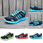 MENS BOYS SNEAKERS RUNNING TRAINERS FITNESS GYM SPORTS COMFY LACE UP SHOES SIZE