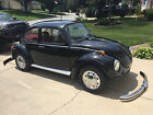 1974 Volkswagen Beetle Classic 1974 Super Beetle  Black w Red Interior