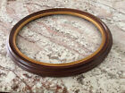 Oval Wood Picture Frame