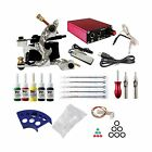ITATOO Complete Tattoo Kit 1 Tattoo Machines 5 Inks Power Supply 5 Tattoo Nee