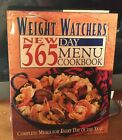 Weight Watchers New 365 Day Menu Cookbook Complete Meals for Every