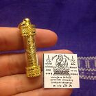 Lp Thuad Takrut Sacred Yant Thai Buddha Amulet Luck Rich Wealth Protecting
