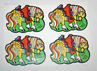 Vintage 80s Scratch N Sniff MELLO SMELLOS Leather Saddle Full Page 4 Stickers