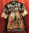 L XL Rare VINTAGE Louis Garneau RUDGE COVENTRY WORLD RECORD Cycling Jersey