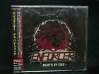 ENFORCER Death By Fire + 1 JAPAN CD Alpha Tiger Skull Fist White Wizzard Wolf