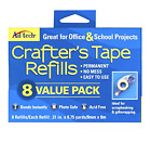 Crafters Tape Refills Adtech Acid Free Photo Safe 8 Refills Permanent No Mess
