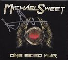 MICHAEL SWEET ONE SIDED WAR SIGNED CD STRYPER VERY RARE !!!