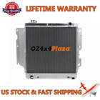 3 ROW CORE Aluminum Radiator For 1987 2006 92 97 Jeep Wrangler YJ TJ 24L 42L
