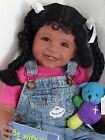 Reborn 22 African American Ethnic Hispanic Toddler girl doll Joy Faith Club