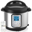 Instant Pot Smart 60 Bluetooth Multi-Use Programmable Pressure Cooker 6 Qt |S...