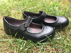 Montana Artisan Crafted Womens Black Leather Mary Janes Size 65 M