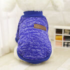 Pet Dog Cotton Jacket Clothes Puppy Various Sweater Coat Chihuahua XS Dark Blue