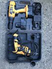 2x JCB Drills. Two Batteries Charger And Case. SPARES OR REPAIRS