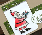 Stampin Up DSP Holiday Paper  Dies By Dave Framelits Santas Gifts