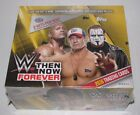 2016 TOPPS WWE THEN NOW FOREVER HOBBY BOX NEW SEALED 24 PACKS 7 CARDS PER PACK