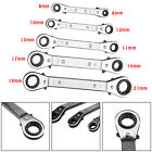 Durable 5 Pcs/Set Offset Ratchet Ring Wrench Spanner Set Metric 6 - 21mm New