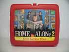RARE Vintage HOME ALONE 2 LOST IN NEW YORK Red Lunchbox Lunch Box TRUMP