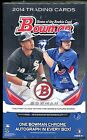 2014 Bowman Baseball Factory Sealed Hobby Box, 1 auto, Bryant? Betts? Abreu?