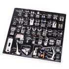 42x Domestic Sewing Machine Presser Feet Set For Brother Singer Janome Low Shank