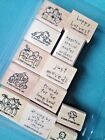 Loads Of Love ACCESSORIES Stampin Up NEW HOUSE Halloween PUMPKIN Easter DOG Set