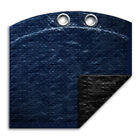 18 x 33 Oval Above Ground Swimming Pool Winter Cover 8 Year Navy Blue