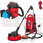 Sealey PW1600 Pressure Washer 110bar + PC100 Vacuum Cleaner Wet Dry 10 Litre 100