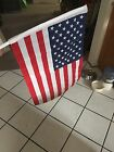 USA PROUD FLAG Lot of 2 US American car window flag Window Clip FREE FAST SHIP