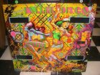 Gottlieb Roller Disco Pinball Machine Original Backglass