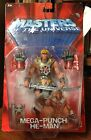 2003 Master Of The Universe Mega Punch He Man Action Figure MIP