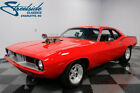 1973 Plymouth Barracuda BUILT 360 V8, TF727 AUTO, PWR STEER & BRAKE, RECEIPTS, STR8 & SOLID BODY, MEAN!