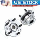 2 New Front Left Or Right Wheel Hub Bearing For Chevy Cavalier Pontiac Buick