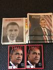 President Barack Obama Chicago Newspapers And Time Magazines 2008