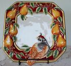FITZ & FLOYD PARTRIDGE CANAPE PLATE