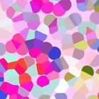 Confetti Colorful Spring Confetti Dotty Print Fabric Printed by Spoonflower BTY