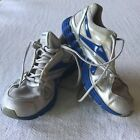 Reebok Mens Size 7 Running Jogging Shoes Sneakers Gray Blue Vibetech