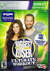 THE BIGGEST LOSER XBox 360 Kinect Video Game Rated E VG FREE 1 DAY SHIPPING