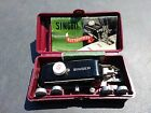Vintage Singer Sewing Machine ButtonHoler Attachment 160743 w/ extra Templates