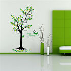 US Family Green Tree Wall Sticker Photo Frame Removable Decal Home Art Decor