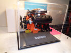 1/6 SCALE LIBERTY CLASSIC  HEMI-DODGE MODEL CAR  ENGINE WITH CUSTOM DISPLAY CASE