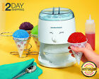 New Snow Cone Maker Icy Treat Hamilton Beach Electric Crusher Ice Shaver Machine