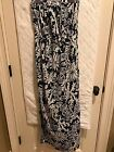 Women Lilly Pulitzer Blue and White Maxi Dress Size S