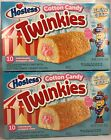 Hostess Cotton Candy Twinkies 2 Box Lot - Total of 20 Golden Sponge Cakes - YUMM