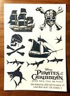 Disney D23 EXPO 2017 Pirates of The Caribbean Dead Man Tell no Tales Tattoos