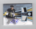 SIDNEY CROSBY 2015-16 ULTIMATE SIGNATURE MATERIAL LAUREATES DUAL PATCH AUTO 15