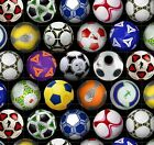 Elizabeths Studio Sports Collection Soccer Balls 100 cotton Fabric by the yard