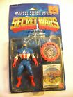 AWESOME 1984 MATTEL SECRET WARS CAPTAIN AMERICA FACTORY SEALED ON CARD