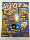 Red Ted's Road Show Williams Pinball Promotional NOS ORIGINAL ARCADE FLYER