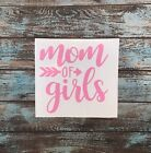 Mom of Girls Decal Sticker Yeti Decal Car Truck Jeep Pink READY TO SHIP