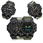 Mens Military Digital Analog Sports Stylish Watch Waterproof Outdoor Electronic