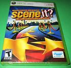 Scene It Bright Lights Big Screen Microsoft Xbox 360 *New-Sealed-Fast Ship!